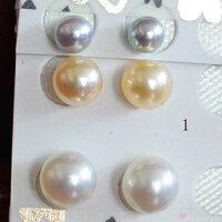 ●6種類の耳元のデザインです。選択くださいませ。1:<TitanPiace>直結&ブラ2:<TitanPiace>アメリカブラ3:SV金色アメリカブラ4:ノンホールイヤリング直結&ブラ5:SV白EGブラ追加1800円6:SV金色EGブラ追加1800円