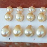 ●池蝶真珠<NaturalGold+調色>5.25-5.5mm×2池蝶真珠<NaturalGold+調色>(横幅)6-6.25mm×2&7.25-7.5mm×2<TitanPiace>W環直結<百合Swing>*SVイヤリングネジバネ直結はオプションです。