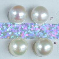 ●アコヤ真珠越し物<ルース>無穴<無調色><Topquality><RoundShape>9.25-9.5mm×2個直結orブラ<TitanPiace><ExcellentSpecial>SVEGK14WGピアスなどはオプション。選択くださいせ。