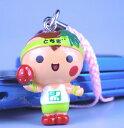【送料200円】ゆるきゃら とちまるくん ねつけ イチゴ ピンク