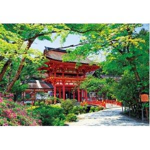 ジグソーパズル:300ピース新緑の上賀茂神社風景 世界遺産 京都ジグソーパズル:300ピース新...