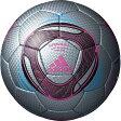 adidas アディダス サッカーボール スピードセル クラブプロ AF4813SLP シルバーXピンクXブラック 4号