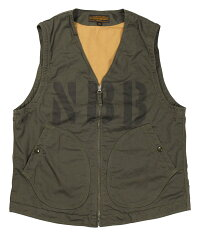 """FREEWHEELERS & CO. [""""NCDU 7th NBB"""" DECK VEST UNION SPECIAL OVERALLS #1921009 OLIVE size.36,38,40,42,44]"""