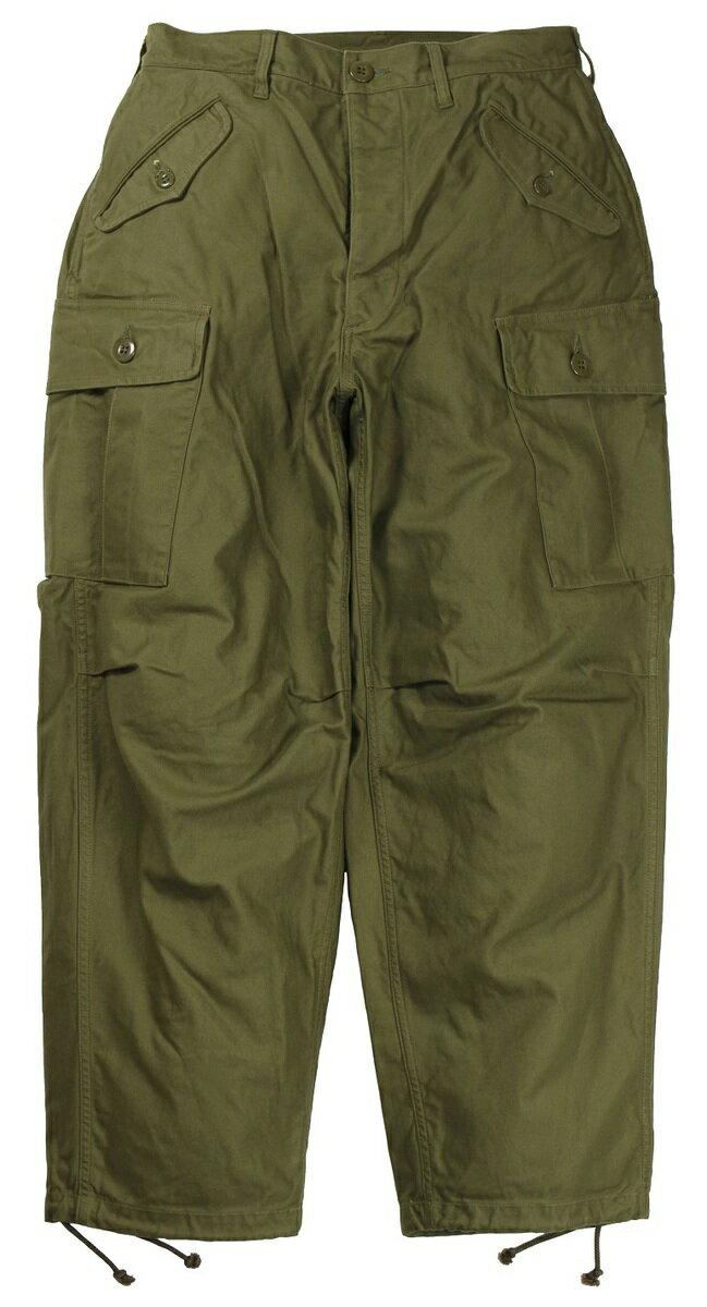 メンズファッション, ズボン・パンツ FREEWHEELERS CO. JUNGLE FATIGUES TROPICAL TROUSERS 2122004 OLIVE w.28,30,32,34,36