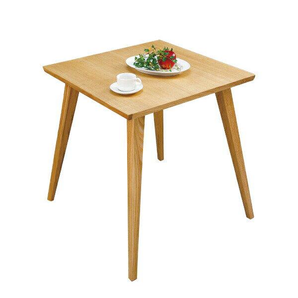 バンビテーブル CL-786TNA ダイニングテーブル リビングテーブル 木製 2人用 おしゃれ シンプル 北欧 正方形 インテリア 小さめサイズ 一人暮らし 新生活 模様替え ナチュラル 素朴 アンティーク カントリー フレンチ シンプル カジュアル リラックス 代引可
