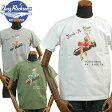 バズリクソンズBUZZ RICKSONS スラブヤーンTシャツ「BOMB A DEAR」BR77596