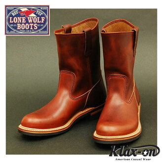 ロンウルフ ( LONEWOLF ) boots farmer ( FARMER ) LW00124-Brown ◆ Oriental Enterprise / casual / mens ◆
