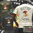 テーラー東洋TAILOR TOYO ベトジャン柄Tシャツ「VIET-NAM MAP」TT77006/アメカジ/ミリタリー/東洋エンタープライズ/スカジャン/