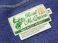 Toys McCoy Steve McQueen Sweat Shirt TMC1458: Blue