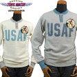 トイズマッコイTOYSMcCOY ミリタリー ユニオンスウェットシャツMILITARY UNION SWEAT SHIRT U.S.A.F.「LIGHTNING LANCERS」TMC1667
