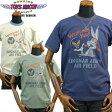 TOYS McCOYトイズマッコイ ミリタリーTシャツ BUGS BUNNYバッグスバニー「KINGMAN ARMY AIR FIELD」TMC1705