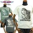TOYS McCOYトイズマッコイ スティーブ・マックィーンTシャツ「WAR LOVER」TMC1748