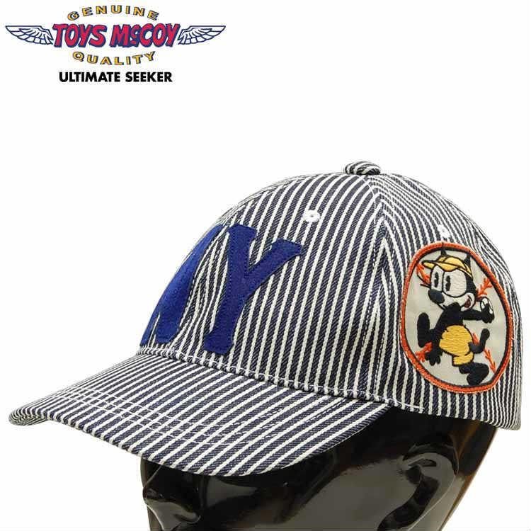 メンズ帽子, キャップ  TOYS McCOY HICKORY COTTON CAP FELIX THE CATWILDCATSTMA1913