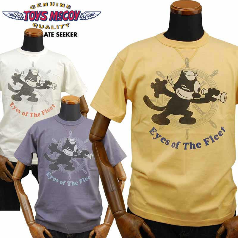 トップス, Tシャツ・カットソー  TOYS McCOY T FELIX THE CATEyes of The FleetTMC2020