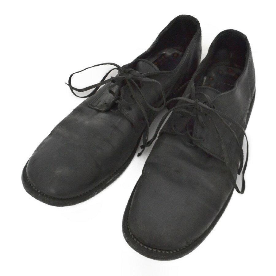 ブーツ, その他 Guidi992 LOWLACE SHOES-CORDVAN 43