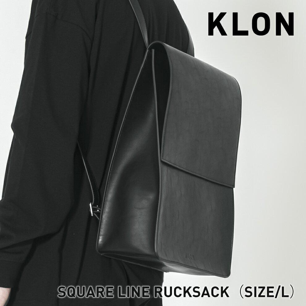 男女兼用バッグ, バックパック・リュック KLON SQUARE LINE RUCKSACK L , 3WAY