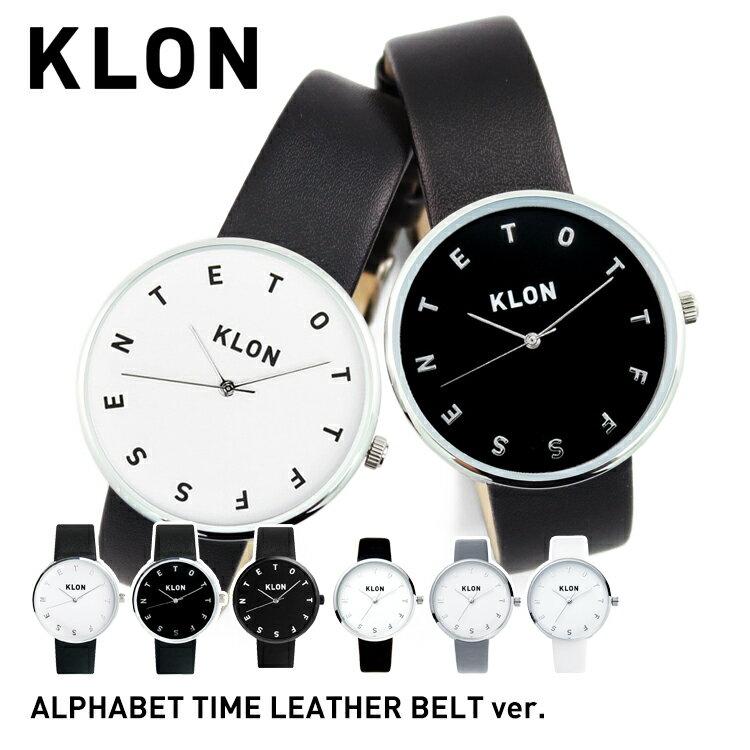 腕時計, ペアウォッチ KLON ALPHABET TIME , 30