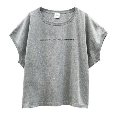 【ポイント10倍】KLON SLEEVE-LESS WIDE Tshirts SERIAL NUMBER GRAY , クローン レディース メンズ Tシャツ Tshirt グレー モノトーン シンプル 秋 S M L Tシャツ お揃い 祝い ギフト プレゼント
