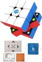 スピードキューブ 競技用 3×3×3 6面 世界基準配色 スムーズ回転 競技専用 ルービックスピードキューブ 立体パズル