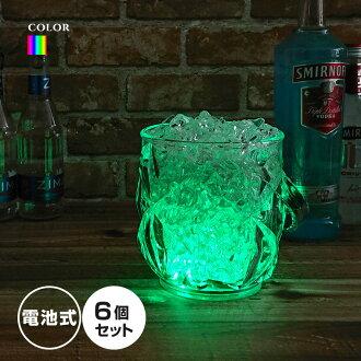 發光冰桶 SP 2 6 件 [LED 冰桶冰桶 7彩 Bargoods 酒櫃、 冰桶、 桶 icebucket 發光]