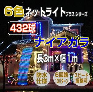 ナイアガラ 432球 3m×1m
