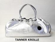 NEW タグ付き新品未使用品タナークロール【TANNER KROLLE】ショルダーバッグ シルバー(中古)