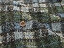 【特別価格商品ボア生地★チェックボア】毛足ループのボア生地【50cm単位】(t6-2)