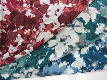 ブルガリ天竺 ニットプリント 150cm巾