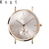 Knot(ノット)クラシック/スモールセコンドローズゴールド & ローズゴールド時計本体のみ(ベルト別売り)メンズ/男性/レディース/女性/腕時計/サファイアガラス/日本製/ウォッチ/MADE IN JAPAN/おしゃれ/送料無料