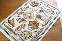 トルション・エ・ブション フランス マルシェのパン フランスパン ブレッド キッチンタオル かわいい おしゃれ キッチンクロス キッチン雑貨 タペストリー フランス雑貨 【TORCHONS et BOUCHONS】