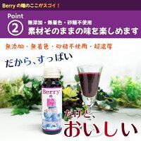 Berryの瞳:ブルーベリードリンクの製造実績