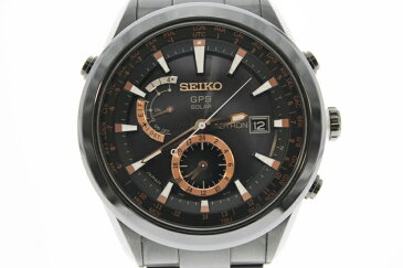 【中古】SEIKO セイコー アストロン 7X52-0AC0 GPS電波ソーラー ブラック黒文字盤 メンズ USED-A  m19-1200306925800019