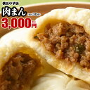 【肉まん-10個入×3箱】『皇朝』一番人気☆ぎゅっと詰まった肉の旨味!世界チャンピオンの肉まん