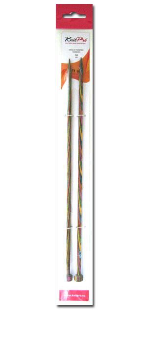 ニットプロ シンフォニーウッド 棒針(30cm) 9~13号