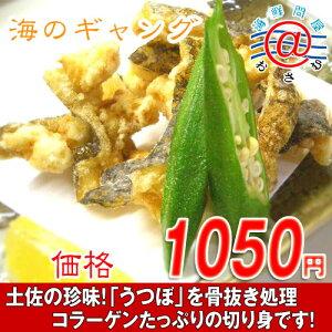 骨抜き処理した海のギャング!高知特産うつぼ切り身水炊、唐揚用300g(4人前)