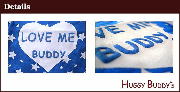 【メール便】【同梱不可】ハギーバディーズハートのラブミーバディタンクXS~XL・DM・DL/ブルー
