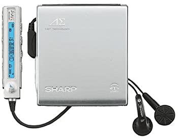 ポータブルオーディオプレーヤー, ポータブルMDプレーヤー SHARP MD-DS70-S 1MD