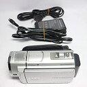 【中古】ソニー SONY デジタルHDビデオカメラレコーダー CX500V 内蔵メモリー32GB シルバー HDR-CX500V/S
