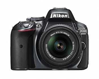 デジタルカメラ, デジタル一眼レフカメラ Nikon D5300 18-55mm VR II 2400 3.2 D5300LK18-55VR2GY