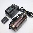 【中古】SONY HDビデオカメラ Handycam HDR-CX480 ボルドーブラウン 光学30倍 HDR-CX480-T