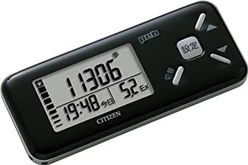 【中古】シチズン(CITIZEN) デジタル歩数計 peb ブラック TW610-BK