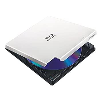 【中古】Pioneer パイオニア Win & Mac対応 BDXL対応 USB3.0 クラムシェル型ポータブルブルーレイドライブ ホワイト BDR-XD05W2