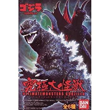 【中古】究極大怪獣 アルティメットモンスターズ GODZILLA ゴジラ 全6種セット画像