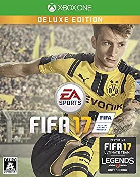 【中古】FIFA 17 DELUXE EDITION【限定版同梱物】20 ジャンボプレミアムゴールドパック (1 x20週間) 、TOTWレンタル選手 (1選手3試合x20週間) 、8試合レ