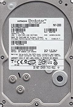 【中古】hds721010kla330、PN 0?a37239、MLC ba2720、Hitachi 1tb SATA 3.5ハードドライブ