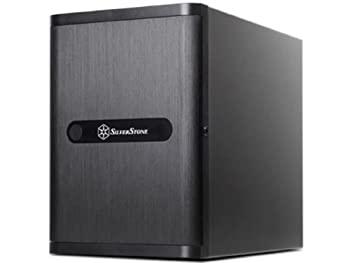 【中古】Silver Stone DriveStrage CASE Mini-ITX 黒 SST-DS380B