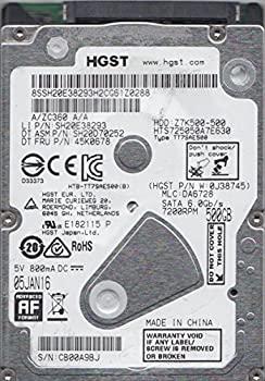 【中古】Hitachi hts725050?a7e630?500.0?GB 7200rpm 2.5?7?mm SATAハードドライブ