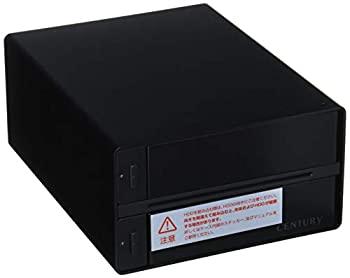 【中古】センチュリー 裸族のテラスハウス RAID SATA6G USB3.0/eSATA接続ケース CRTS35EU3RS6G