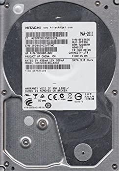 【中古】hds721010cla332、PN 0?F13656、MLC jpt3gh、Hitachi 1tb SATA 3.5ハードドライブ