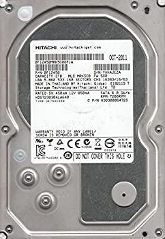 【中古】hds723030ala640、PN 0?F12450、MLC mrk5?C0、Hitachi 3tb SATA 3.5ハードドライブ